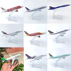 Mô Hình Máy Bay – Tổng Hợp Máy bay mô hình các hãng hàng không đúc Kim Loại có kèm đế trưng bày