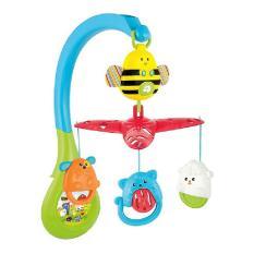 Đồ chơi Winfun 0856 treo cũi hình động vật có nhạc – Tạo sự thoải mái cho bé