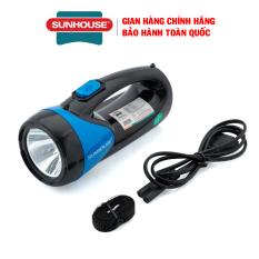 Đèn pin xách tay 2 chức năng Sunhouse SHE-8200 – Đèn pin cầm tay Sunhouse – Bảo hành 12 tháng
