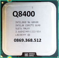 CPU Q8400 tặng kèm keo tản nhiệt