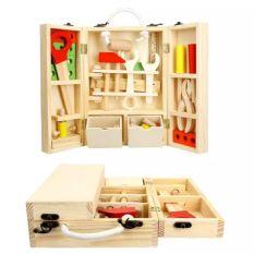 Hộp dụng cụ sửa chữa 39 chi tiết – Đồ chơi gỗ thông minh