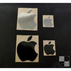 Sticker Apple kim loại mạ Niken cao cấp trang trí Điện thoại/PC/Laptop