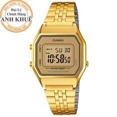 Đồng hồ nữ Casio Anh Khuê LA680WGA-9DF