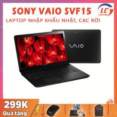 Laptop Sony VAIO SVF15 Hàng Nhập Khẩu Nhật, Card Rời, i5-4210U, RAM 4G, SSD 128G, VGA NVIDIA GT 740M-2G, Màn 15.6 FullHD IPS, Laptop Sony, Laptop i5, Laptop Giá Rẻ