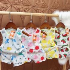 Bộ cotton giấy ba lỗ cho bé 3-15kg hàng đẹp sản phẩm tốt với chất lượng độ bền cao và được cam kết sản phẩm y như hình