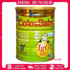 Sữa Non ColosBaby Gold Số 0+ 800g (COLOS BABY – COLOSBABY – Colos baby)