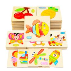 Đồ chơi cho bé, Combo 5 Tranh Ghép Gỗ 3D Hình Động vật Và Phương Tiện Giao Thông(Ngẫu Nhiên)