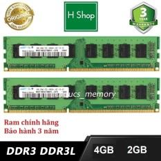 Ram PC 4GB DDR3 Bus 1600 và một số loại khác, hàng zin chính hãng bảo hành 36 tháng