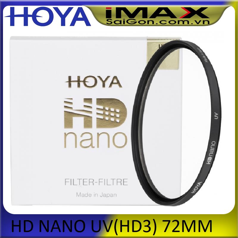 [HCM]Kính lọc Filter Hoya HD Nano UV 72mm