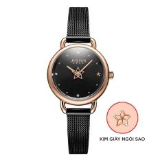 Đồng hồ nữ Julius Hàn Quốc JA-1192 mặt tròn dây thép
