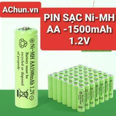 PIN SẠC Ni-MH AA 1500mAh – 1.2V/1.5V kích thước 14x50mm