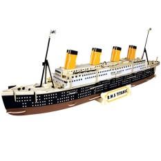 Đồ chơi gỗ lắp ráp 3D- mô hình Tàu Titanic – 154 mảnh ghép