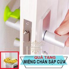 Combo 4 Chặn Cửa, Cao su Chặn Cửa,Miếng Xốp Chặn cửa, Silicon Chặn Cửa Chống Ồn, Dụng Cụ Chặn Cửa, Tặng 1 chặn cửa kẹp tay