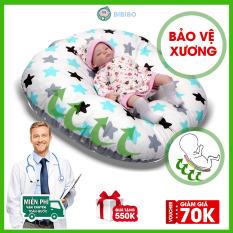 Gối chống trào ngược cho bé AKITA ROYAL R75 giúp ngủ ngon giấc, gối cho bé sơ sinh từ 0 tháng, thiết kế đặc biệt an toàn và bảo vệ xương, nệm cho bé nằm chơi cao cấp, chính hãng bảo hành lỗi 1 đổi 1 – Shop BIBIBO