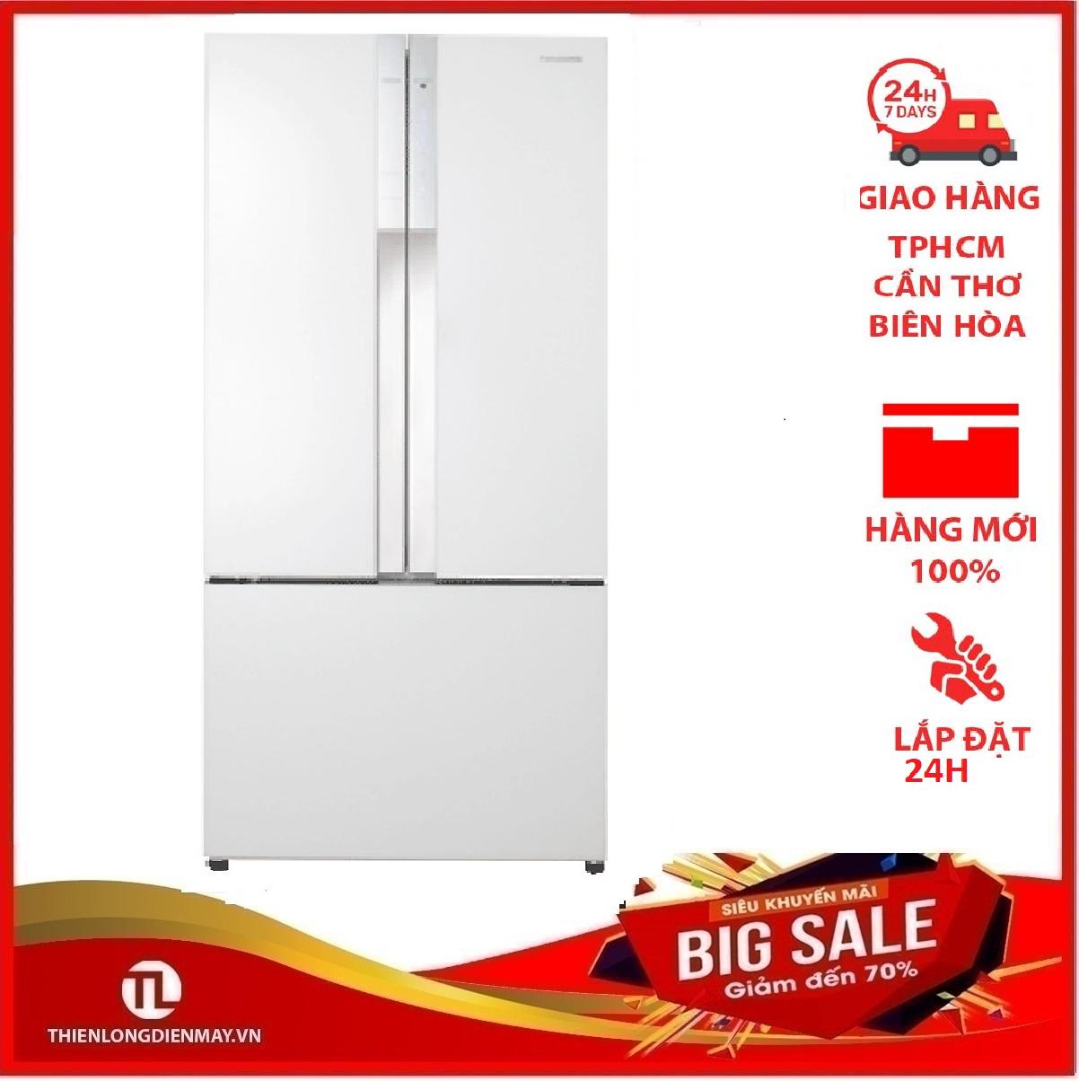 {GIẢM THÊM VOUCHER 400K – APP LAZADA} Tủ lạnh Panasonic 491 lít NR-CY557GWVN