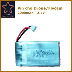 PIN Flycam 3.7V 2000mAh