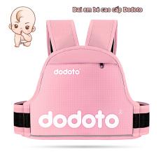 Đai đi xe máy cho bé từ 1-10 tuổi dodoto, địu ngồi xe máy cho bé chống ngã, đai ngồi xe máy đeo vai, thắt lưng, đai ngực, Kiki shop