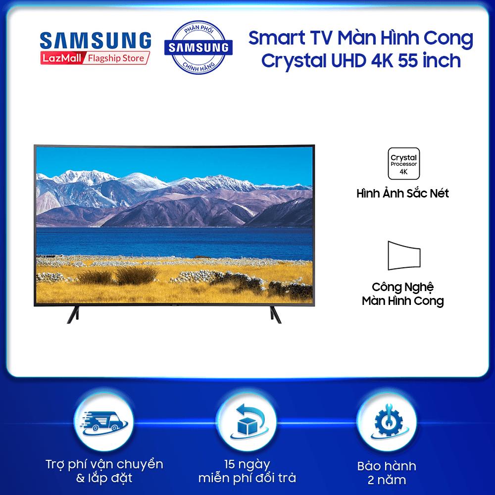 Smart TV Samsung Crystal UHD 4K 55 inch TU8300 2020 – TV