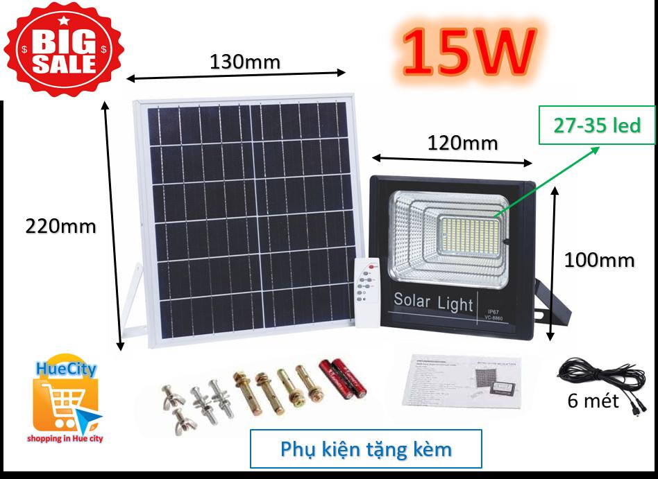 Đèn led năng lượng mặt trời Solar Light 10W,15W,20W,25W,30W,35W,40W,45W,50W,55W…100W… đủ công suất