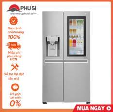 TRẢ GÓP 0% – Tủ lạnh Instaview Door-in-Door LG GR-X247JS, 601L, Inverter – Bảo hành chính hãng
