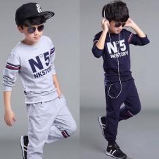 """Bộ quần áo thu đông """"NO5"""" 14-45kg cho bé trai từ 4-14 tuổi. Vải dày dặn, mềm mại. Hàng may kỹ."""