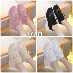 (Giá sốc 4 màu video thật) Giày thể thao sneaker nữ cổ chun siêu đẹp Antony Store thiết kế trẻ trung, năng động