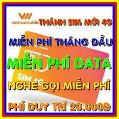 Thánh Sim 4G Vietnamobile Mới – Miễn phí DATA không giới hạn + Nghe Gọi Và Nhắn Tin Nội Mạng Miễn Phí – Phí gia hạn 20.000đ – Thánh sim 4G mới – Shop Sim Giá Rẻ