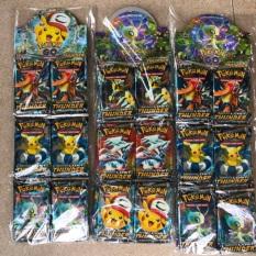 mã 12W 36 gói thẻ bài pokemon bản tiếng anh gói 8 bài cực chất xịn sò