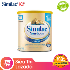 [Siêu thị Lazada] [FREESHIP TOÀN QUỐC TỪ 399K] Sữa bột Similac Newborn Eye-Q 400g Gold Label cung cấp nguồn dinh dưỡng đầy đủ cho bé phát triển toàn diện