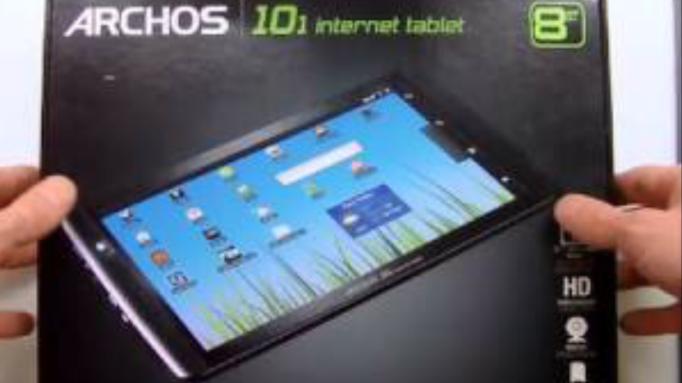 Archos 101 internet tablet 16 Gb May tính bảng thương hiệu Pháp