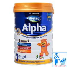Sữa Bột Vinamilk Dielac Alpha Step 3 – Hộp 900g (Cho trẻ 1~2 tuổi)