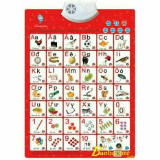 Bảng chữ cái đa năng,Bảng học điện tử (chữ cái,số,con vật,đồ vật),kiểm tra có giọng nói thông minh cho bé