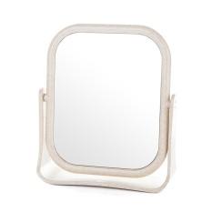 Gương để bàn xoay 2 mặt BE 18*15 (còn màu be)