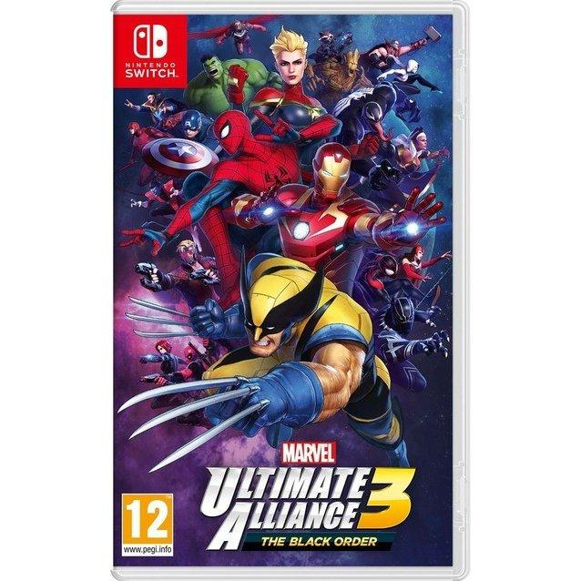 Đĩa Game Nintendo Switch - Marvel Ultimate Alliance 3: The Black Order