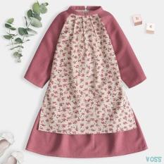 Áo dài Cách Tân Cổ Tàu mặc Tết Cho Bé Gái Thiết Kế Siêu Xinh Thời Trang Cao Cấp