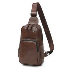 Túi đeo chéo nam T01 (Nâu) T11