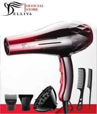 Máy sấy tóc Deliya 8080 công suất 2200W – 3 chế độ sấy nóng, vừa, mát với 2 tốc độ gió không lo tóc hư tổn [ TẶNG KÈM 5 PHỤ KIỆN + 1 PHẦN QUÀ HẤP DẪN – BẢO HÀNH 1 NĂM – 1 ĐỔI 1 TRONG 7 NGÀY ]
