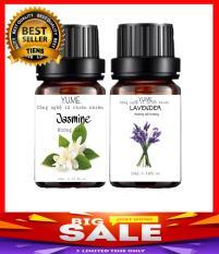 Bộ 2 chai tinh dầu lavender và hoa lài cao cấp dùng cho máy xông tinh dầu thơm giúp làm sạch không khí, tạo cảm giác thoải mái thư giãn