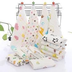 Set 10 khăn sữa 6 lớp aden siêu thấm dòng cao cấp (30 x 30 cm / Khăn)