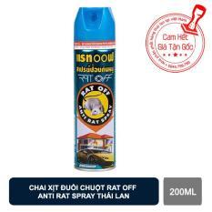 Xịt đuổi chuột Rat Off Thái Lan đuổi sạch chuột sau 1 tuần xịt không độc hại chất lượng và an toàn【Kho Thế Giới 】
