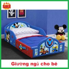 Giường ngủ cho bé siêu dễ thương( tặng kèm đệm),phù hợp cho bé từ 2-10tuổi
