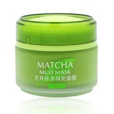 Mặt Nạ Bùn Trà xanh sạch sâu, ngừa mụn Laikou Matcha Mud Mask 5 Tác Dụng 85g
