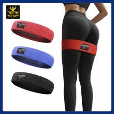 Dây kháng lực mini band vải Valeo Fitness siêu bền hỗ trợ tập chân mông
