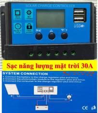 Bộ điều khiển sạc hệ thống năng lượng mặt trời 30A