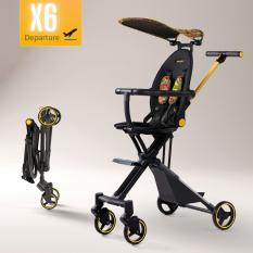 [Lấy mã giảm thêm 30%]Xe đẩy du lịch cao cấp X6 Playkids
