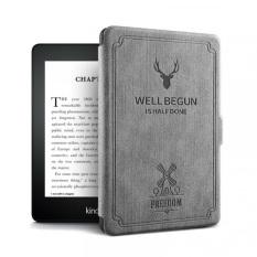 Combo Kindle Paperwhite 4 (10th generation) MÀU ĐEN + bao da (cover)/ túi chống sốc (shockproof bag)