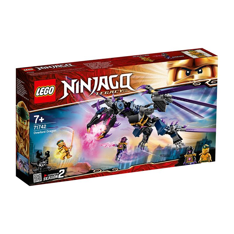 LEGO Ninjago Rồng Đen Của Chúa Tể Overlord 71742