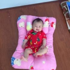Bộ nệm gối cho bé sơ sinh ( Ngang 57cm dài 78cm.,Dày 10cm )