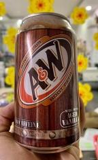 Nước ngọt có Gas A&W Root Beer vị Vani Mỹ( 5lon)