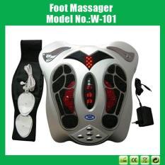 Máy massage xung điện tặng kèm đai giảm béo và 8 miếng dán điện cực